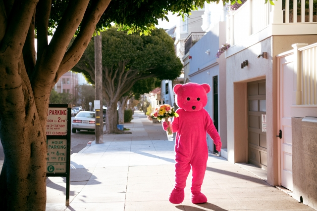 For A Loved One - The Pink Bear - LUAP