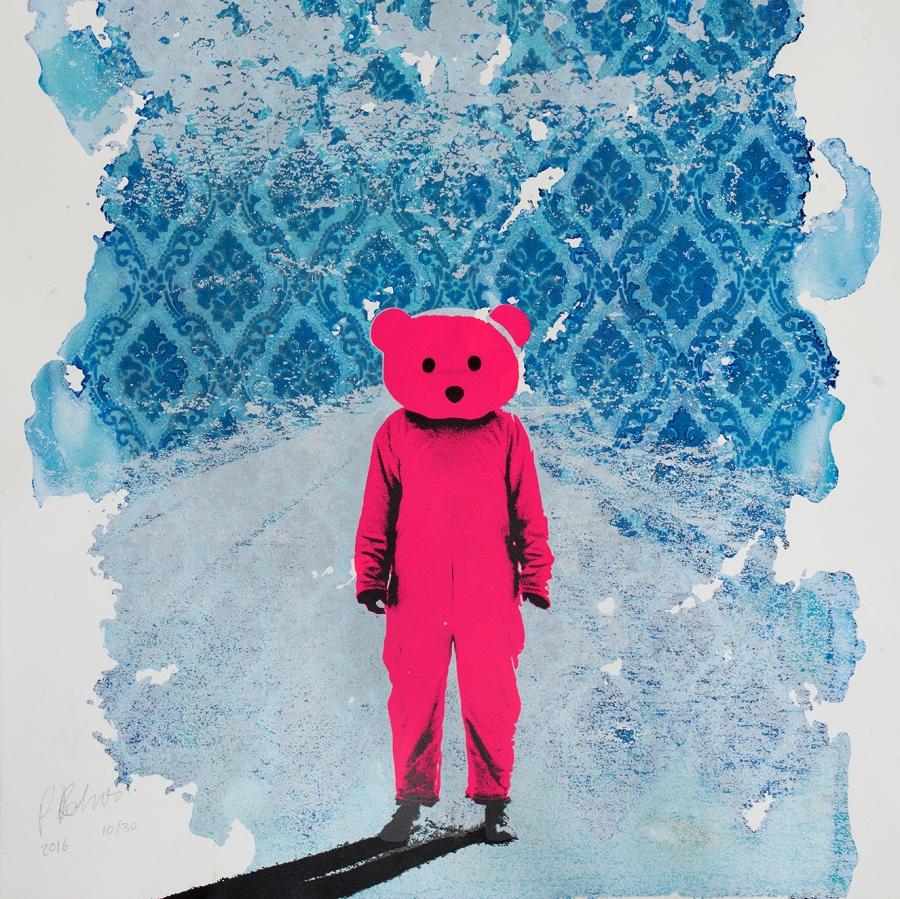 Pink Bear Home House