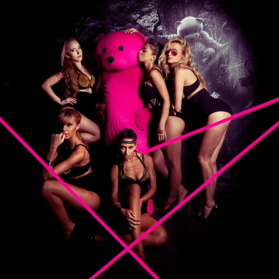 The Pink Bear at DSTRKT